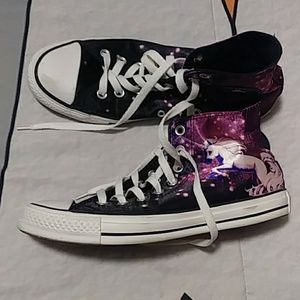 Rare Converse All Stars Unicorn Galaxy High Tops